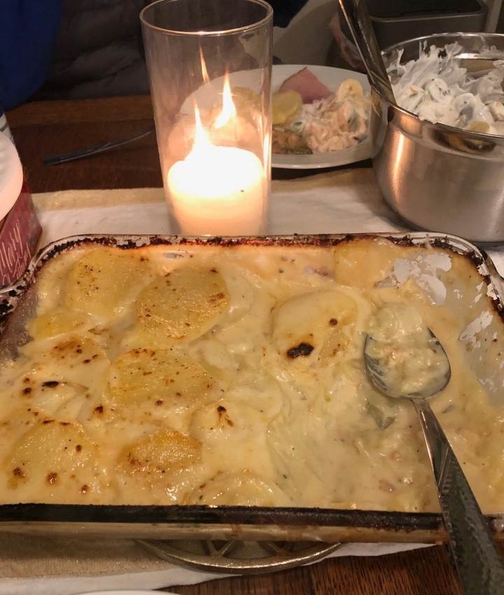 Scalloped Potatoes … Leaving 2020 on a High Note